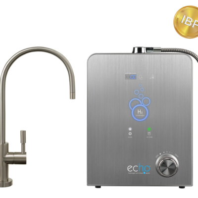 Echo H2 Machine w/ Brushed Nickel Faucet + IBP Fee