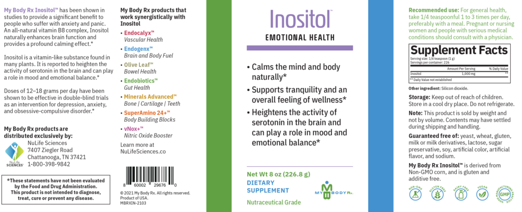Inositol - Emotional Health Supplement