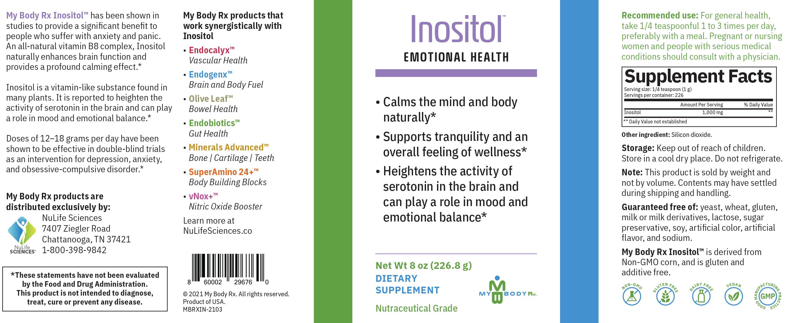 Inositol - Emotional Health Supplement