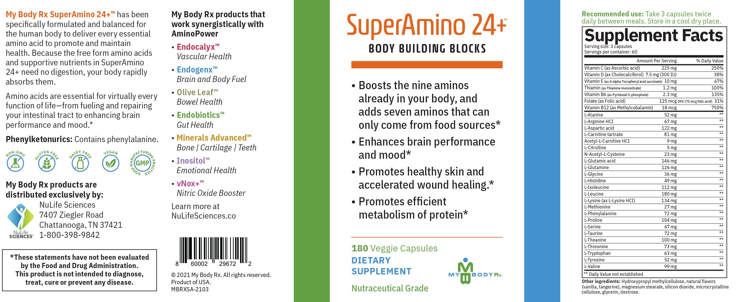 SuperAmino24-label