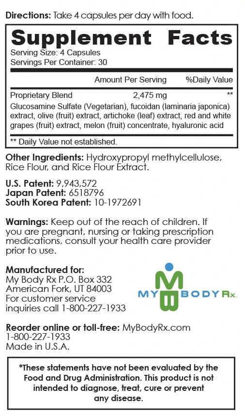 endocalyx ingredients