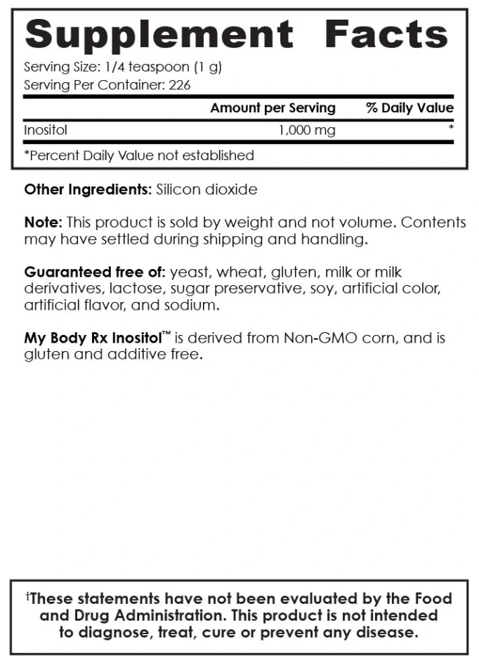 Inositol Ingredients