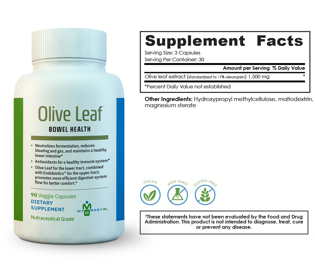 oliveleaf-supplement-facts