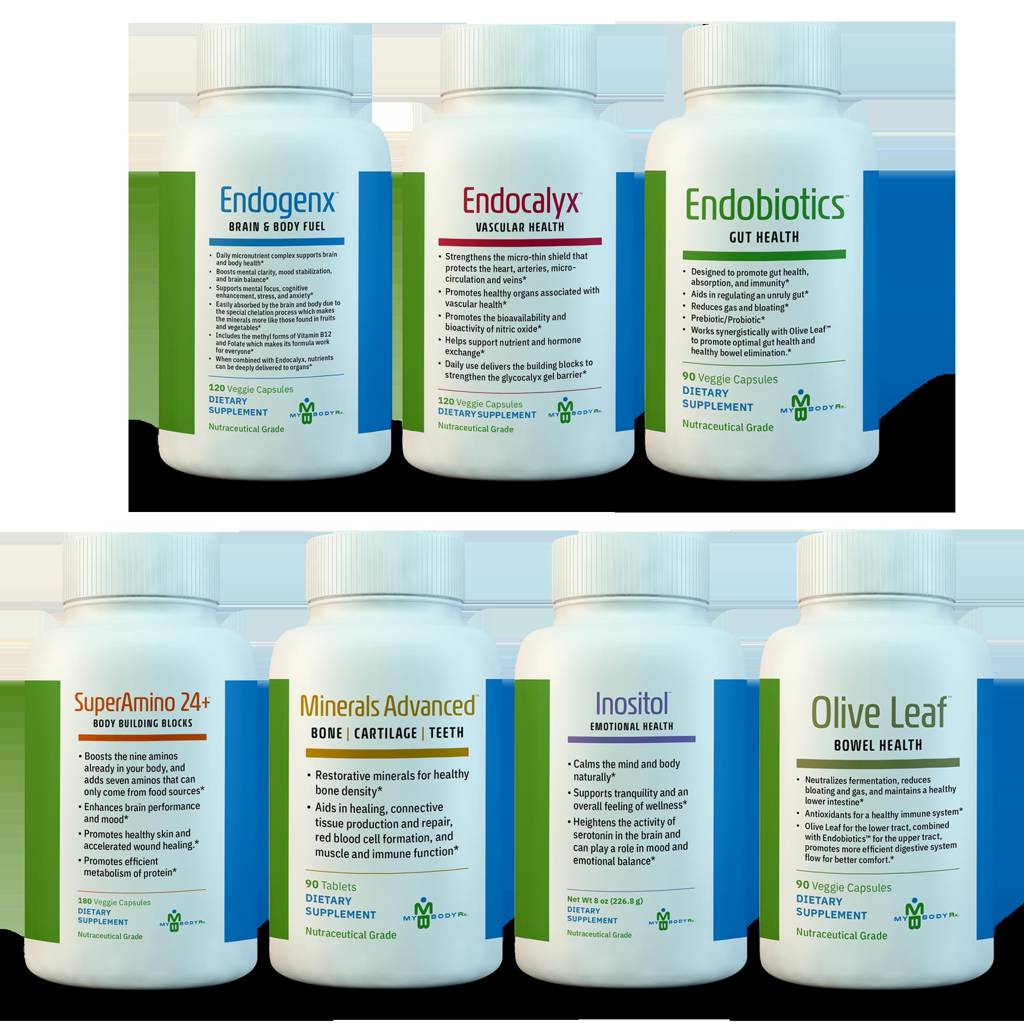 All MyBodyRx Supplements Bundle