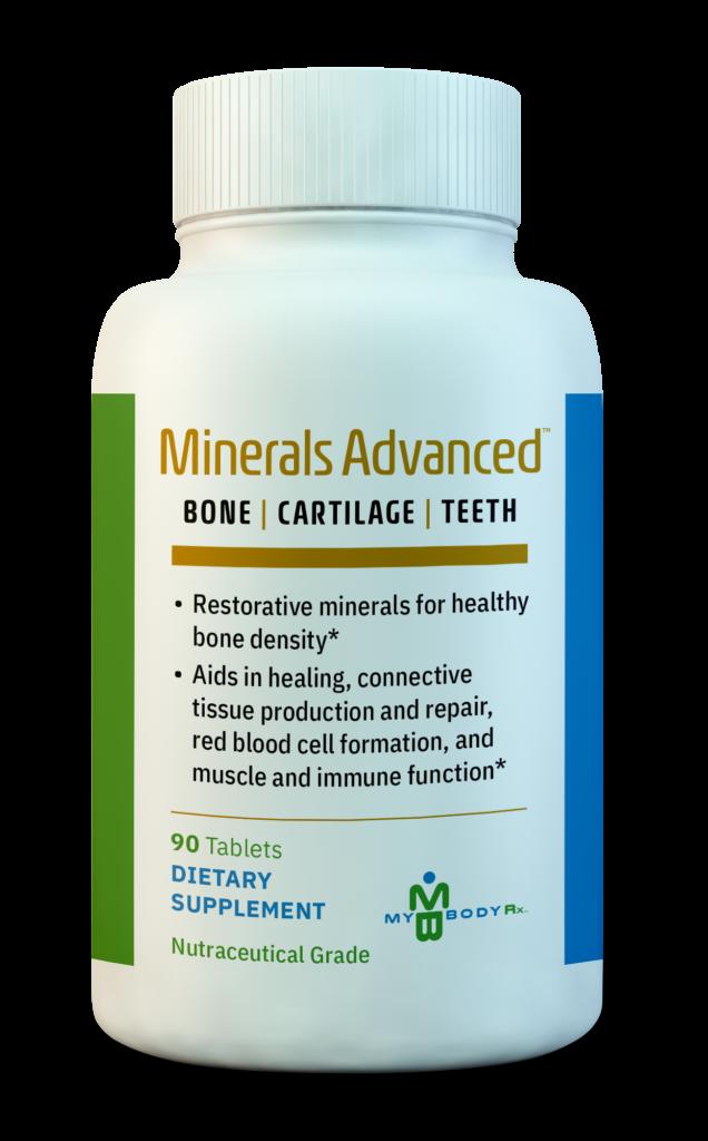 minerals advanced - bone catilage teeth